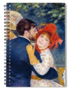 A Dance In The Country Spiral Notebook