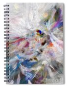 A Dance With Paint Spiral Notebook