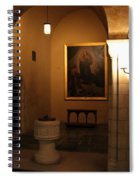 A Dark Journey For The Light Spiral Notebook