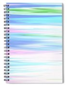 A Day At The Beach Pastels Spiral Notebook