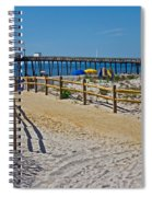 A Day At The Beach Spiral Notebook
