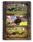 A Day At The Races Spiral Notebook