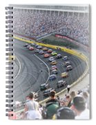 A Day At The Racetrack Spiral Notebook