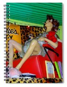 A Day At The Spa Spiral Notebook