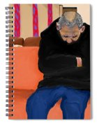 A Day At The Va Clinic Spiral Notebook