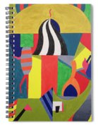 A Day At The Zoo, 1992 Spiral Notebook