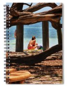 a day in the Florida Keys Spiral Notebook