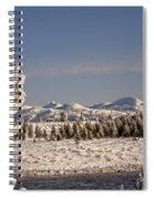 A Day Of Winter Spiral Notebook