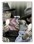 A Day Off In Tarabuco- Bolivia Spiral Notebook
