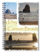 A Day On Cannon Beach Spiral Notebook