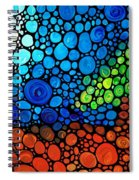 A Day To Remember - Mosaic Landscape By Sharon Cummings Spiral Notebook