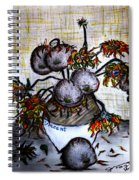 A Dedication To Vincent's 125 Year Anniversary Of His Death - 1890-2015 Spiral Notebook