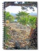 A Desert Landscape Spiral Notebook