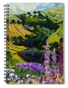 A Different Garden Spiral Notebook