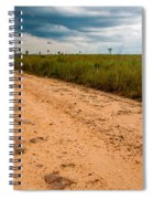A Dirt Road In The Plains Spiral Notebook