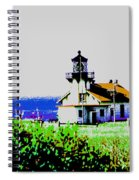 A Distant Light House Spiral Notebook
