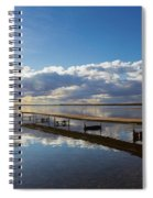 A Dock Leading Out Into The Lake At Spiral Notebook