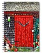 A Door In Maine Spiral Notebook