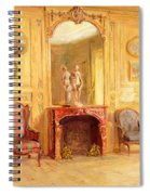 A Drawing Room Spiral Notebook