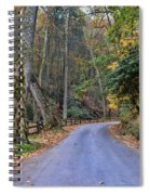 A Drive In The Country Spiral Notebook