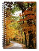A Drive Through The Woods Spiral Notebook