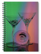 A Dry Martini Spiral Notebook
