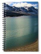 A Dusting On Glacier Spiral Notebook