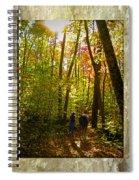 A Fall Walk With My Best Friend Spiral Notebook