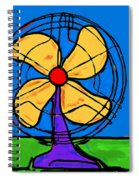 A Fan Of Color Spiral Notebook