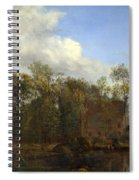 A Farm Among Trees Spiral Notebook