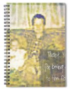 A Father To The Fatherless Spiral Notebook