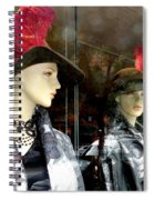 A Feather In Her Hat Spiral Notebook