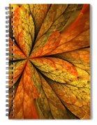 A Feeling Of Autumn Spiral Notebook