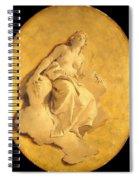 A Female Allegorical Figure Spiral Notebook