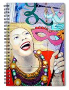 A Festive Time Spiral Notebook