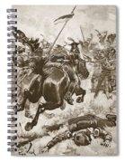 A Fierce Hand-to-hand Fight Ensued Spiral Notebook