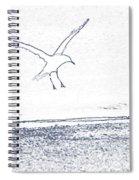 A Fine Flight Spiral Notebook