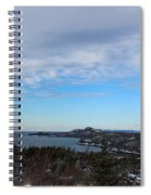 A Fine January Day On The Bay Spiral Notebook