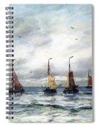 A Fishing Fleet Spiral Notebook