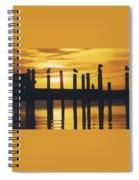 A Flock Of Seagulls Spiral Notebook
