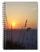 A Florida Sunset Spiral Notebook