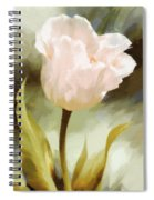 One Beautiful Flower Impressionism Spiral Notebook