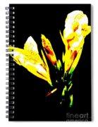 A Flower Spiral Notebook