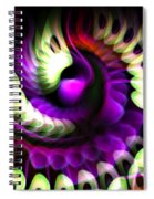 A Flurry Of Wings Spiral Notebook