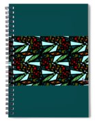 A Fly Of Sorts And Berries Spiral Notebook