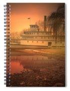 A Foggy Sunrise Spiral Notebook