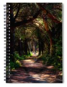 A Forest Path -dungeness Spit - Sequim Washington Spiral Notebook