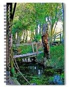 A Forgotten Delta Dock Spiral Notebook