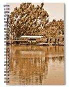A Forgotten Delta Marina Spiral Notebook