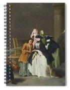 A Fortune Teller At Venice Spiral Notebook